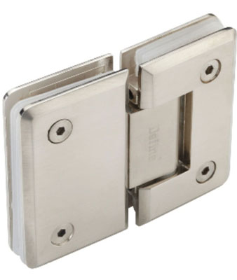 Shower Hinges - Zinc Alloy